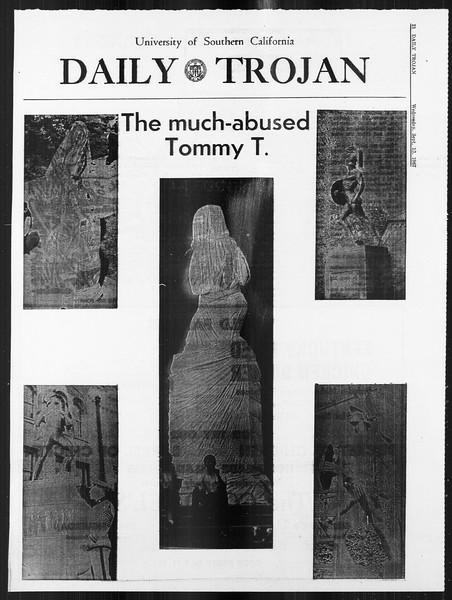 Daily Trojan, Vol. 59, No. 1, September 13, 1967