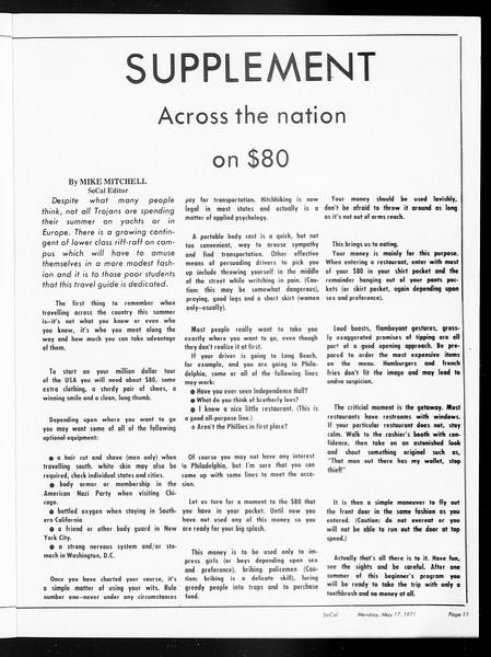 SoCal, Vol. 62, No. 124, May 17, 1971