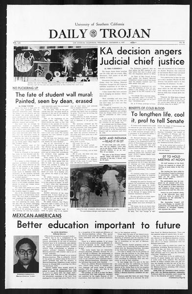 Daily Trojan, Vol. 59, No. 52, December 06, 1967