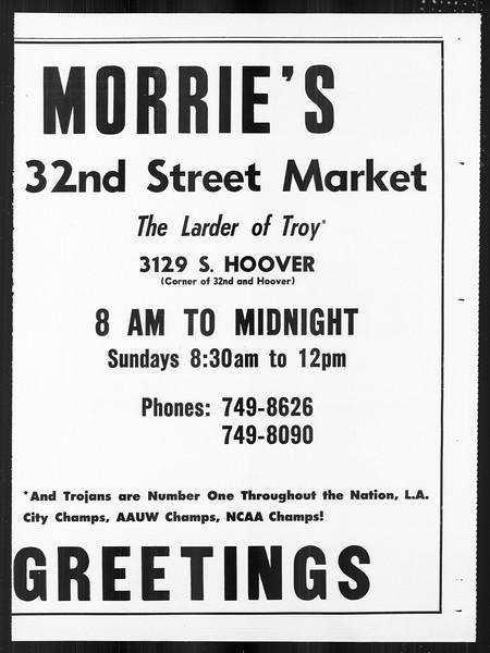 Daily Trojan, Vol. 59, No. 57, January 01, 1968