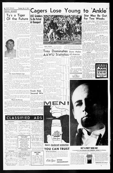 Daily Trojan, Vol. 55, No. 49, December 05, 1963