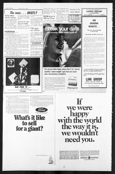 Daily Trojan, Vol. 59, No. 64, February 06, 1968