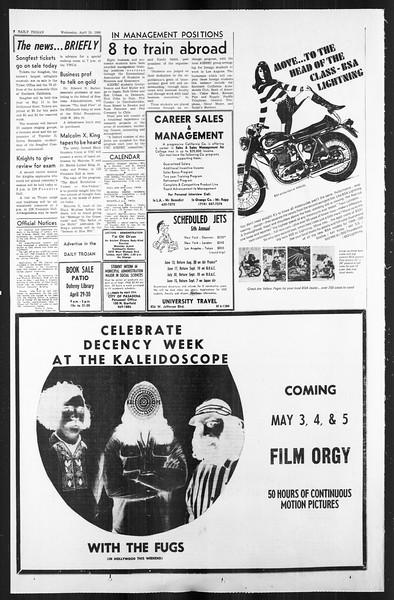 Daily Trojan, Vol. 59, No. 111, April 24, 1968