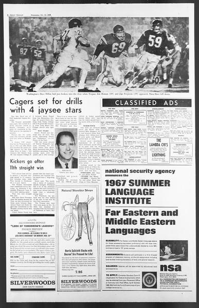 Daily Trojan, Vol. 58, No. 18, October 12, 1966
