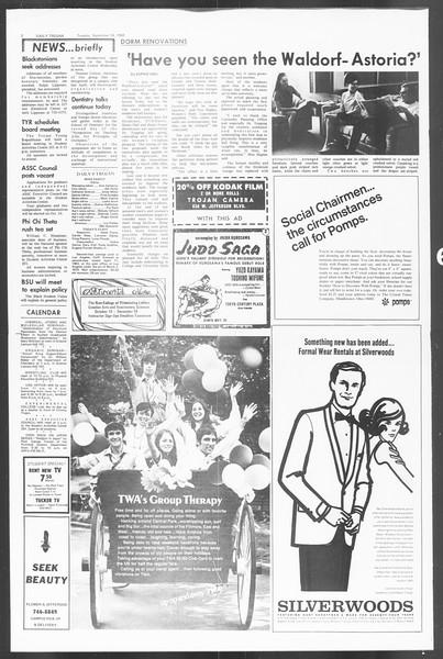 Daily Trojan, Vol. 60, No. 7, September 24, 1968