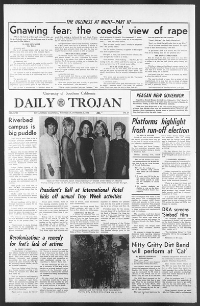 Daily Trojan, Vol. 58, No. 37, November 09, 1966