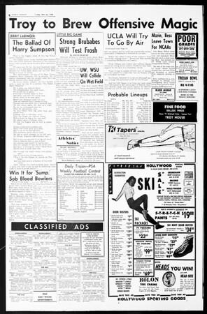 Daily Trojan, Vol. 55, No. 44, November 22, 1963