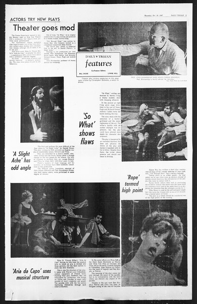 Daily Trojan, Vol. 59, No. 24, October 19, 1967