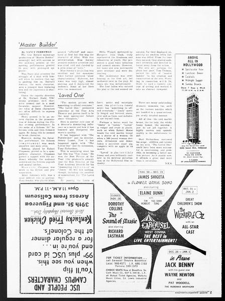 Daily Trojan, Vol. 57, No. 38, November 11, 1965