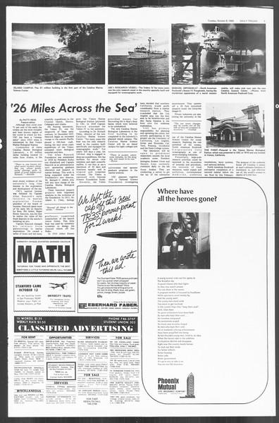 Daily Trojan, Vol. 60, No. 15, October 08, 1968