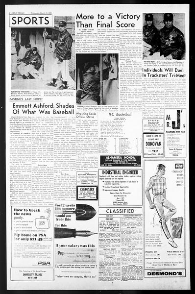 Daily Trojan, Vol. 57, No. 88, March 16, 1966