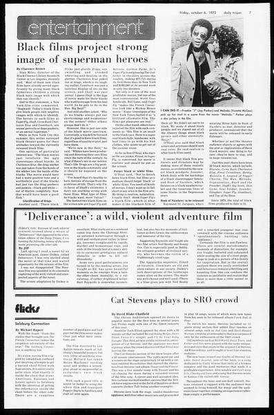 Daily Trojan, Vol. 65, No. 15, October 06, 1972