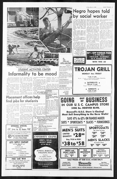 Daily Trojan, Vol. 59, No. 82, March 01, 1968