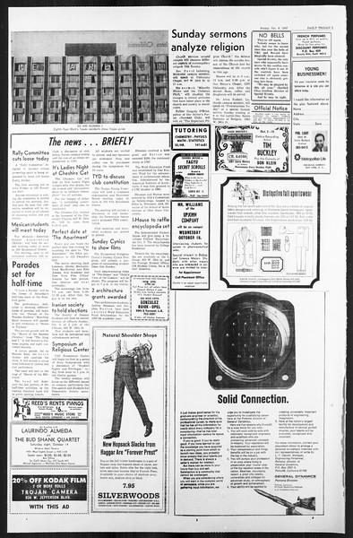 Daily Trojan, Vol. 59, No. 15, October 06, 1967