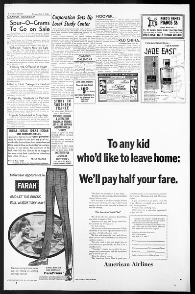 Daily Trojan, Vol. 57, No. 63, February 08, 1966