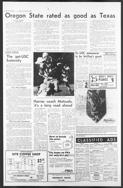 Daily Trojan, Vol. 58, No. 8, September 28, 1966