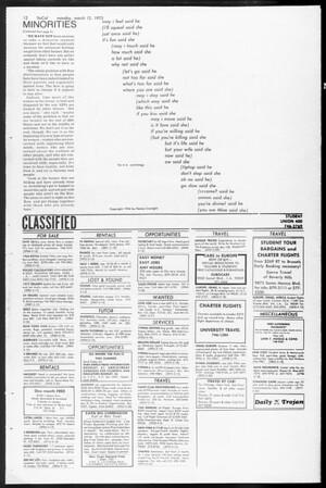 SoCal, Vol. 65, No. 88, March 12, 1973