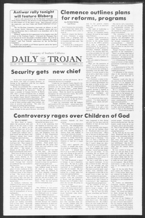 Daily Trojan, Vol. 64, No. 37, November 12, 1971