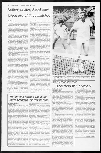 Daily Trojan, Vol. 65, No. 112, April 24, 1973