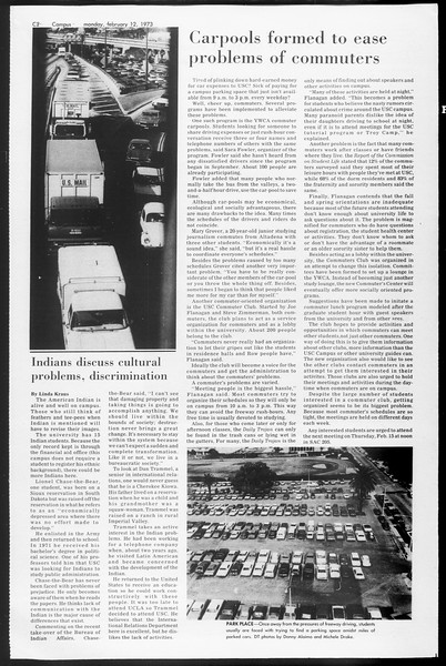 SoCal, Vol. 65, No. 70, February 12, 1973
