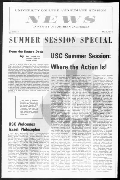 Daily Trojan, Vol. 65, No. 100, March 28, 1973