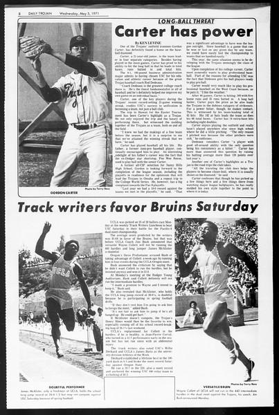 Daily Trojan, Vol. 62, No. 117, May 05, 1971