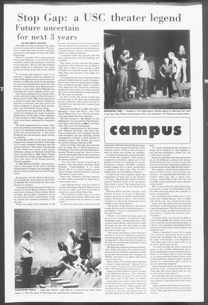 Daily Trojan, Vol. 64, No. 83, March 07, 1972