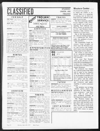 SoCal, Vol. 62, No. 98, March 29, 1971