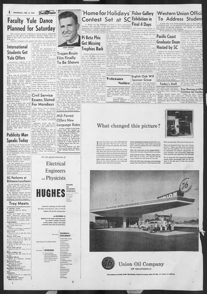 Daily Trojan, Vol. 46, No. 57, December 08, 1954