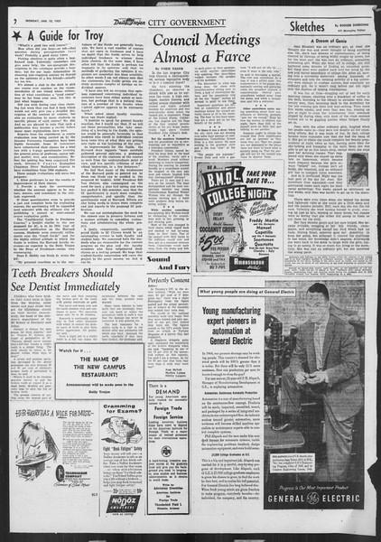 Daily Trojan, Vol. 46, No. 70, January 10, 1955