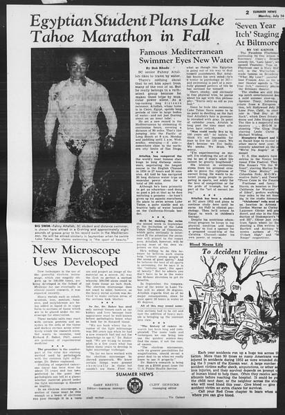 Summer News, Vol. 9, No. 10, July 26, 1954