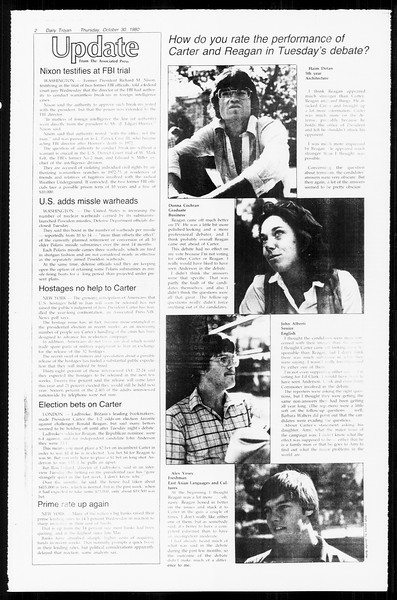 Daily Trojan, Vol. 89, No. 32, October 30, 1980