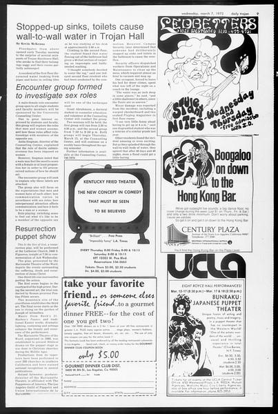 Daily Trojan, Vol. 65, No. 85, March 07, 1973