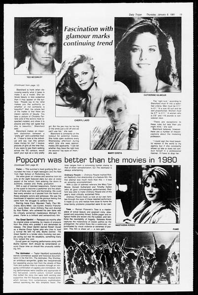 Daily Trojan, Vol. 89, No. 63, January 08, 1981