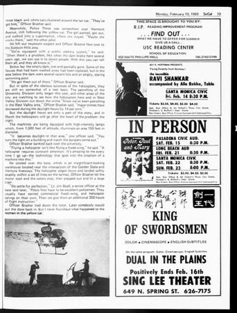 SoCal, Vol. 60, No. 67, February 10, 1969