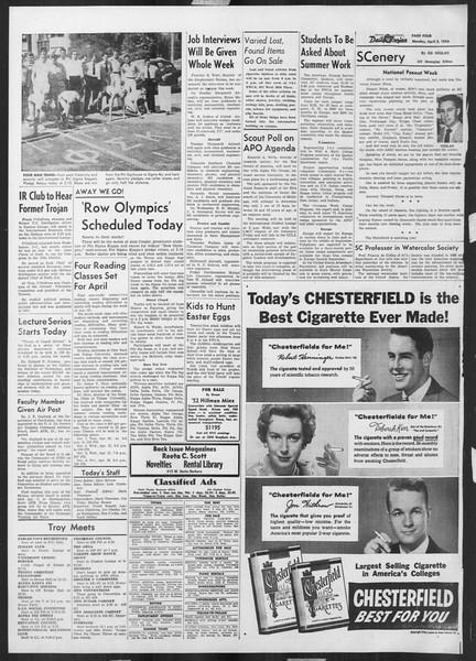 Daily Trojan, Vol. 45, No. 108, April 05, 1954