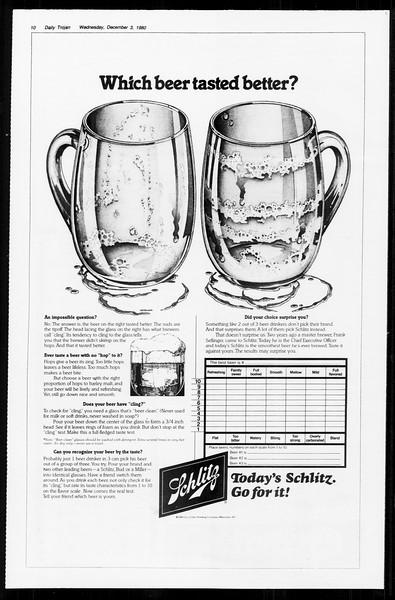 Daily Trojan, Vol. 89, No. 51, December 03, 1980