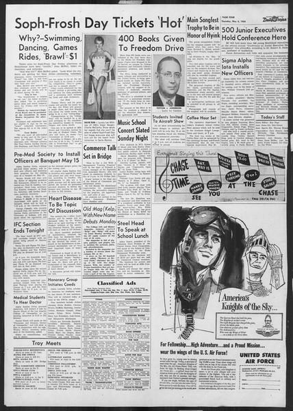Daily Trojan, Vol. 45, No. 126, May 06, 1954