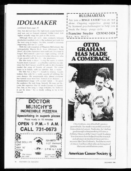 Daily Trojan, Vol. 89, No. 53, December 05, 1980
