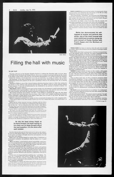 SoCal, Vol. 65, No. 126, May 14, 1973