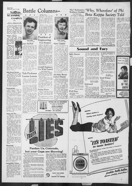 Daily Trojan, Vol. 45, No. 135, May 19, 1954