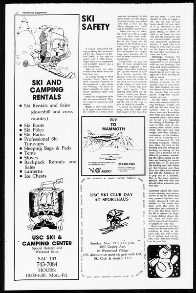 Daily Trojan, Vol. 89, No. 44, November 19, 1980