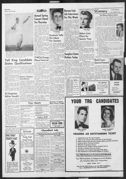 Daily Trojan, Vol. 45, No. 118, April 26, 1954