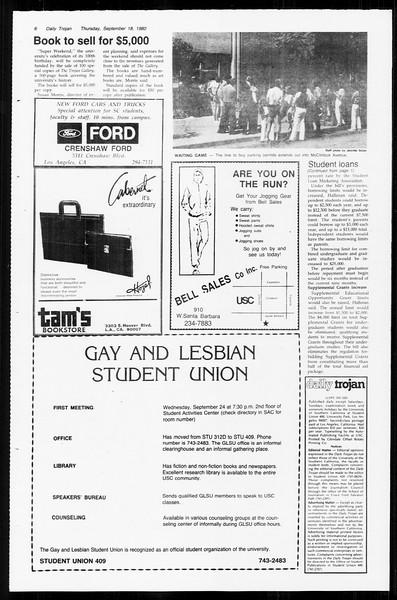 Daily Trojan, Vol. 89, No. 4, September 18, 1980