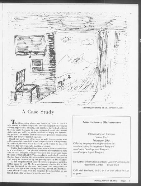SoCal, Vol. 64, No. 77, February 28, 1972