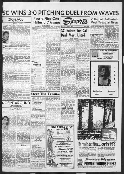 Daily Trojan, Vol. 45, No. 115, April 21, 1954
