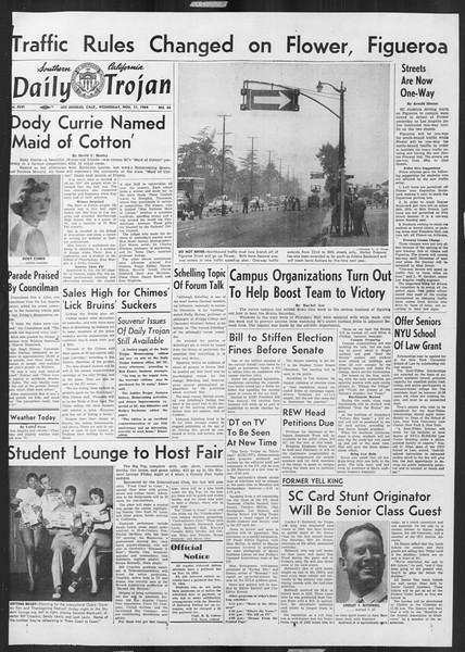 Daily Trojan, Vol. 46, No. 44, November 17, 1954