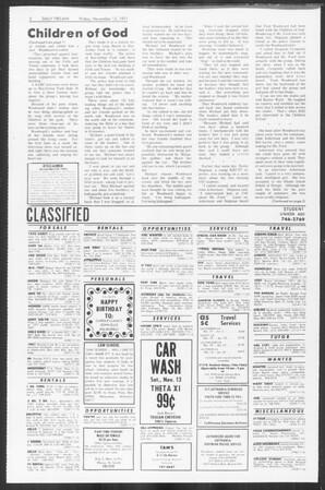 Daily Trojan, Vol. 64, No. 37, November 12, 1971