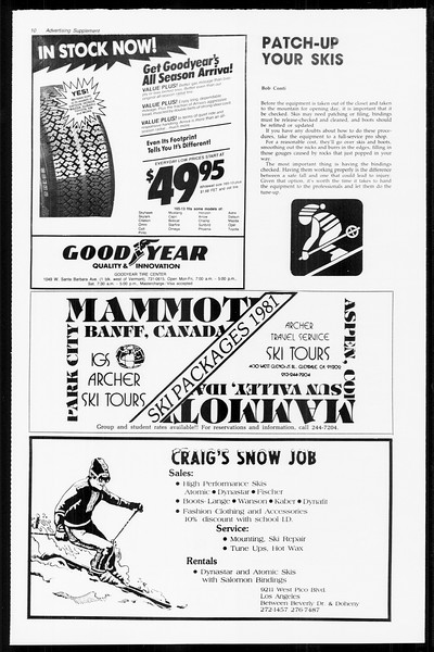 Daily Trojan, Vol. 89, No. 44, November 19, 1980