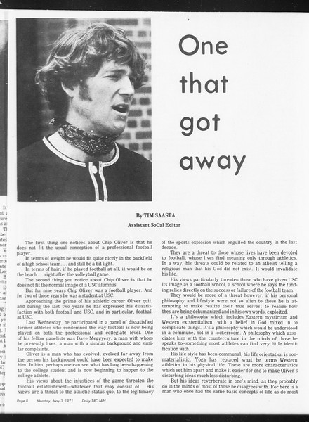 SoCal, Vol. 62, No. 115, May 03, 1971